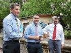 The NSW Minister for Regional Tourism arrived in Bangalow hinting a decision about the rail trail was imminent.