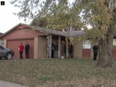 A THREE-YEAR-OLD boy has accidentally shot and killed his mother as she changed her younger daughter's nappy.