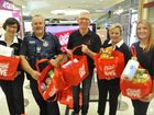 TWO tonnes of food can make a big difference to families struggling in Toowoomba over Christmas.