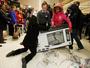 VIDEO: Black Friday bargain hunting turns violent