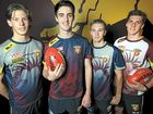 THE Lions have added three Tasmanians to their playing list in the past month, with last week's national draft yielding Josh Watts and Josh McGuinness.