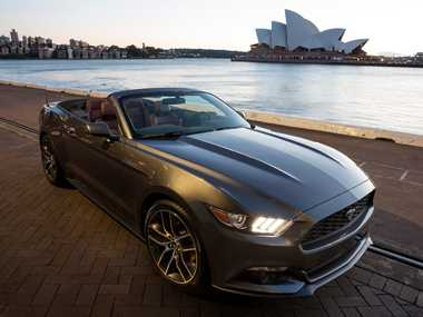 The Ford Mustang will start from $44,990 when it arrives in Australia later this year.