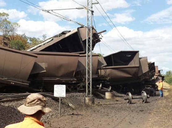 Hot Weather Causes Coal Train To Derail | MiningLink - The largest