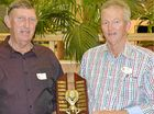 RECOGNISED: Allan and Colin Bell won the Farmer of the Year award for their bumper summer and winter crops at the Pacific Seeds Agents and Industry Awards in Toowoomba.