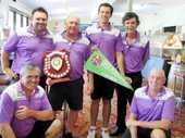 SANDY Gallop golfers weren't the only successful players celebrating after Sunday's Moreton District Golf Association Pennant finals.