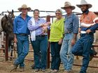 GENERATIONS OF HARD WORK: John, Michelle, Amelia, Alison, Walter and Wal Brown from Kooroon, St George.