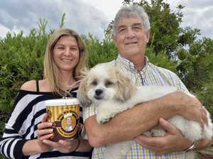 Kylie and Bill Gaydon from Billy G s Gourmet Cookie Dough have helped schools and fundraising organisations raise over $45 million nation-wide. Photo Inga Williams / The Satellite