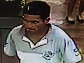 POLICE are searching for a man who threatened another man with a knife in Caboolture early this morning.
