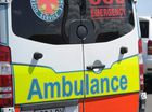 A MAN has died and a woman taken to hospital after their vehicle crashed into a tree on the Wide Bay Highway.