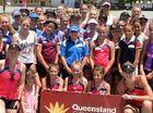 Laura Geitz, aussie netball hero, inspires young fans