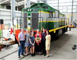 Train restored at Downer EDI