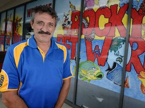 COSTLY BUSINESS: Mark Roati from Rocky Pet World is asking people to support local small businesses in the lead up to Christmas.