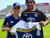 WHICH of these two north Queensland sporting legends earns the most money?