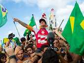 GABRIEL Medina, 20, made history today, becoming the first Brazilian to claim the prestigious ASP World Title