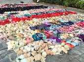 A MAN obsessed with stealing his female neighbours' lingerie and hiding it away has been caught and arrested after a ceiling collapsed under the weight.