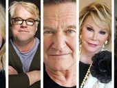 """FROM Hollywood legends to our own best loved """"Westie"""" - 2014 saw us farewell a host of famous faces. Here's a look back at some of the stars we lost."""