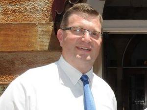Member for Toowoomba North Trevor Watts