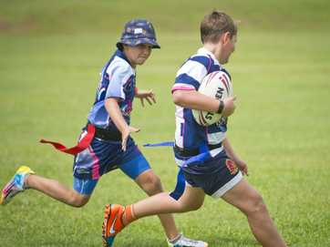 Junior rugby league players are learning new skills at the three-day Junior Footy Academy in Gladstone and Calliope.