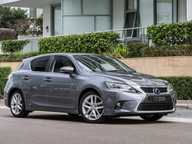 The Lexus CT200h runs a similar drivetrain to that found in the Prius, with hefty gains in ride quality and interior materials.