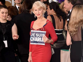 THE terrorist attacks in Paris cast their long shadow over the 72nd Golden Globe awards.