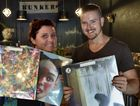 HOTTEST MUSIC: Kirsty Lee and Stephen Payton from Bunker Records show off their favourite music. Photo Bev Lacey / The Chronicle