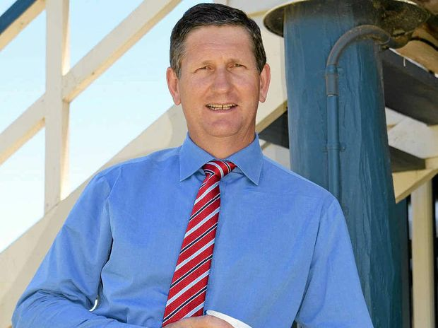 ON THE TRAIL: LNP Member for Southern Downs Lawrence Springborg says ...