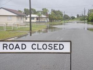 The residents of Wood St in Barney Point are sick and tired of constant road closures every time it rains.