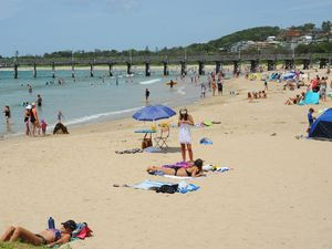 The message is to keep yourself and your family safe if heading to the beach on Australia Day.