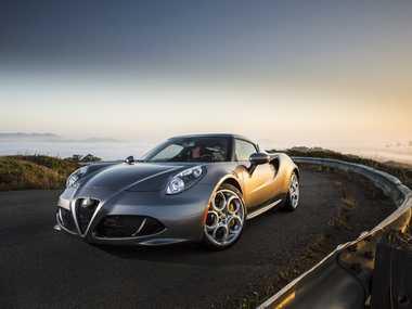 The Alfa Romeo 4C.