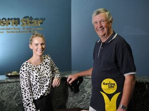 Northern Rivers cancer council community project co-ordinator Rowena Terone and Northern Rivers Cancer Council advocacy team leader Art Beavis are excited about the launch of the Northern Star campaign in support of the Cancer Council. Photo Marc Stapelberg / The Northern Star