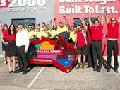 STUART and Jenny Daniels and their team at Beerwah-based Trailers 2000 have thrown down a unique challenge to other loud and proud Aussie manufacturers.
