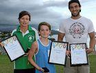 Sports stars awarded
