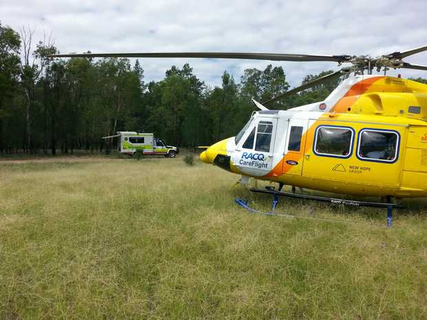 Dalby man airlifted by racq careflight toowoomba chronicle for Garage ad nantes dalby