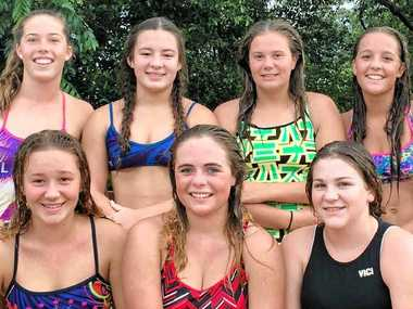 TAKING THE PLUNGE: The Alstonville team that will compete in the NSW Water Polo Under-16 Club Competition.