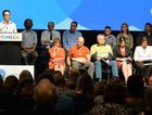 Candidates field tough questions from public