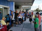 Line-up, line-up! Pre-poll votes come in thick and fast