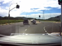 Watch: dash cam captures car being flipped onto its roof
