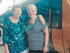 BACK TOGETHER: Ipswich's Rita Cullen and Stanwell's Jean McMahon met again for the first time in 55 years last week.