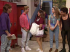 JIMMY Fallon reunited the cast of Nineties teen TV show Saved By The Bell – with one notable exception.