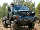 IF THERE is ever a beauty pageant for trucks, you can be sure the Mercedes-Benz Zetros won't win it.