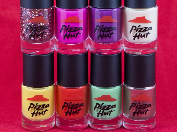 pizza hut releases nail polish range for valentine 39 s day mackay daily mercury. Black Bedroom Furniture Sets. Home Design Ideas