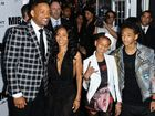 Will Smith with wife Jada Pinkett, daughter Willow and son Jaden