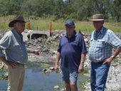 FARMERS at the bottom end of the Lockyer Valley despair they will ever see a solution to botched flood roadworks that left Queensland taxpayers out of pocket.