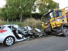 THREE people who died in a collision with a logging truck in south Waikato yesterday were not wearing seatbelts at the time, it is believed.