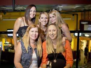 Dicey's, Brooke Barnes, Sarra Lye, Bridget Fenton, Jackqueline Rogers and Michelle Palmer. Photo Paul Braven / The Observer