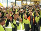 JOB SAFETY: Thousands of TWU members that work for Toll are wondering whether they will still have jobs if a takeover bid from Japan Post is accepted by Toll shareholders.