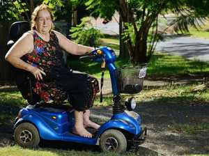 ACCESS ISSUES: Davina Daylight is concerned about a lack of footpath access for motorised scooters in Ipswich.