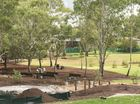 THE Garnet Lehmann Park detention basin is nearing completion and a massive transformation is evident.