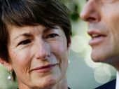 """When Margie Abbott, was called upon to assure the public her husband was not a misogynist, she called her speech """"the joy of an ordinary life""""."""