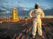 DAYNE Pratzky is The Frackman and the movie documenting his adventures fighting the gas industry in Queensland is coming to the Northern Rivers.